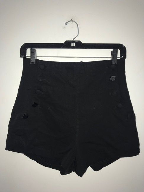 Elizabeth and James Dress Shorts Black Image 1