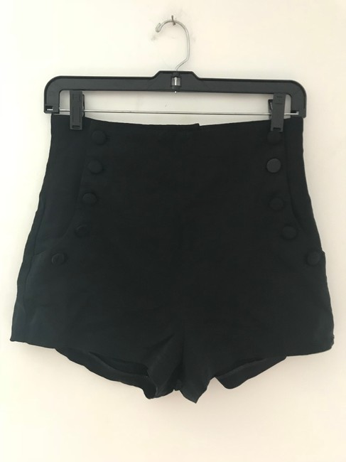 Elizabeth and James Dress Shorts Black Image 2