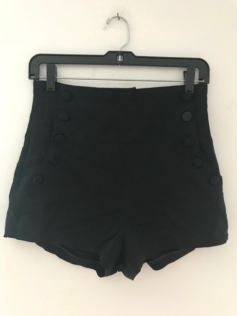 Elizabeth and James Dress Shorts Black Image 3