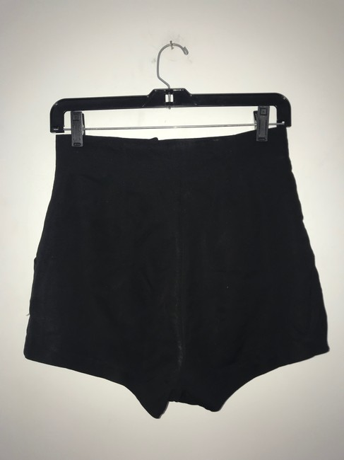 Elizabeth and James Dress Shorts Black Image 7