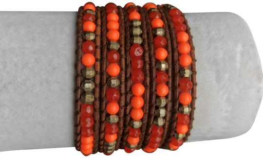 Preload https://img-static.tradesy.com/item/24045556/chan-luu-indian-red-agate-new-mix-five-wrap-light-bro-bracelet-0-1-540-540.jpg