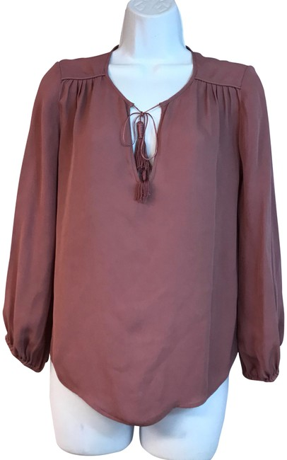 Preload https://img-static.tradesy.com/item/24045558/joie-puce-pink-blouse-size-2-xs-0-1-650-650.jpg