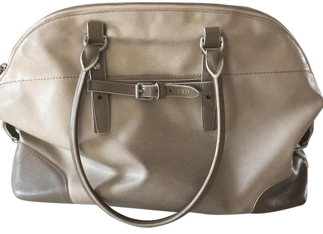 Tumi 73103brd Beige Leather Satchel Tumi 73103brd Beige Leather Satchel Image 1