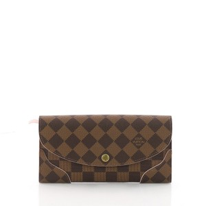 Louis Vuitton Wallet Canvas Wristlet in ebene