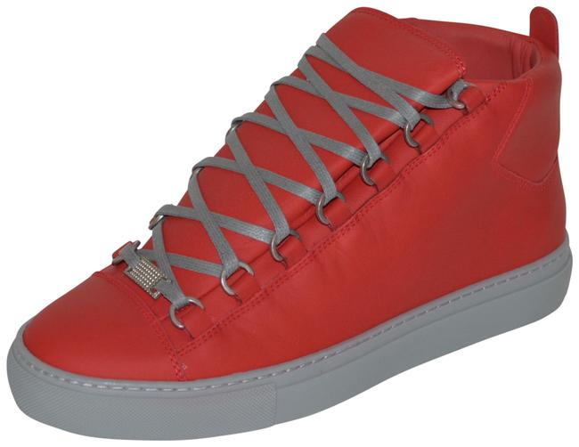 Item - Red New Hitop Leather Eu 39 Mens Sneakers Size US 6 Regular (M, B)