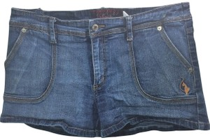 Baby Phat Mini/Short Shorts Blue