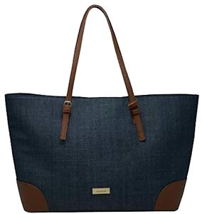 bebe Tote in Denim