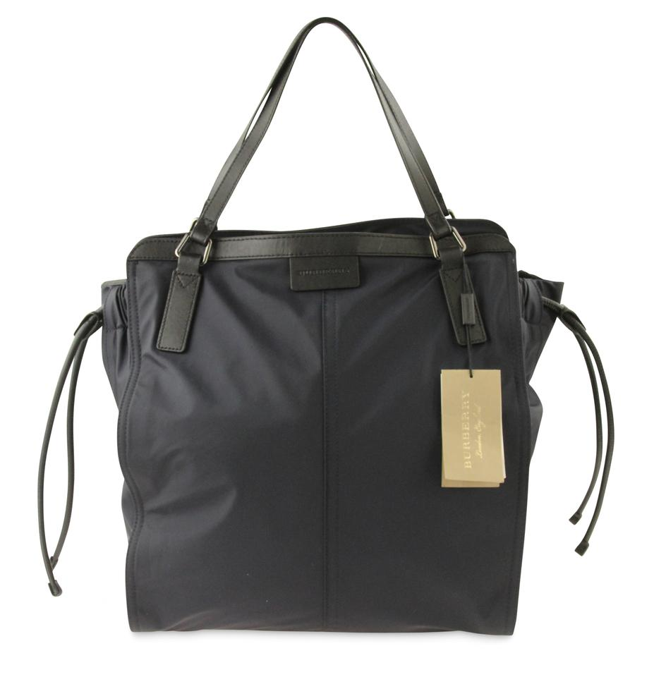 Burberry Navy Small Buckleigh Packable Blue Nylon Tote - Tradesy 0581f716a8864