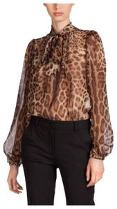 Dolce&Gabbana Top black and brown