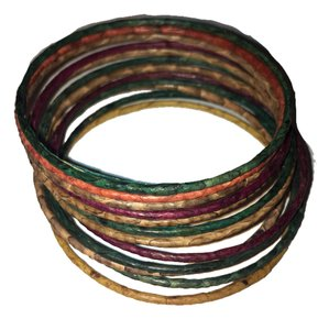 Banana Republic bamboo wrapped bracelets