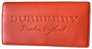 Burberry Checkbook style travel Wallet