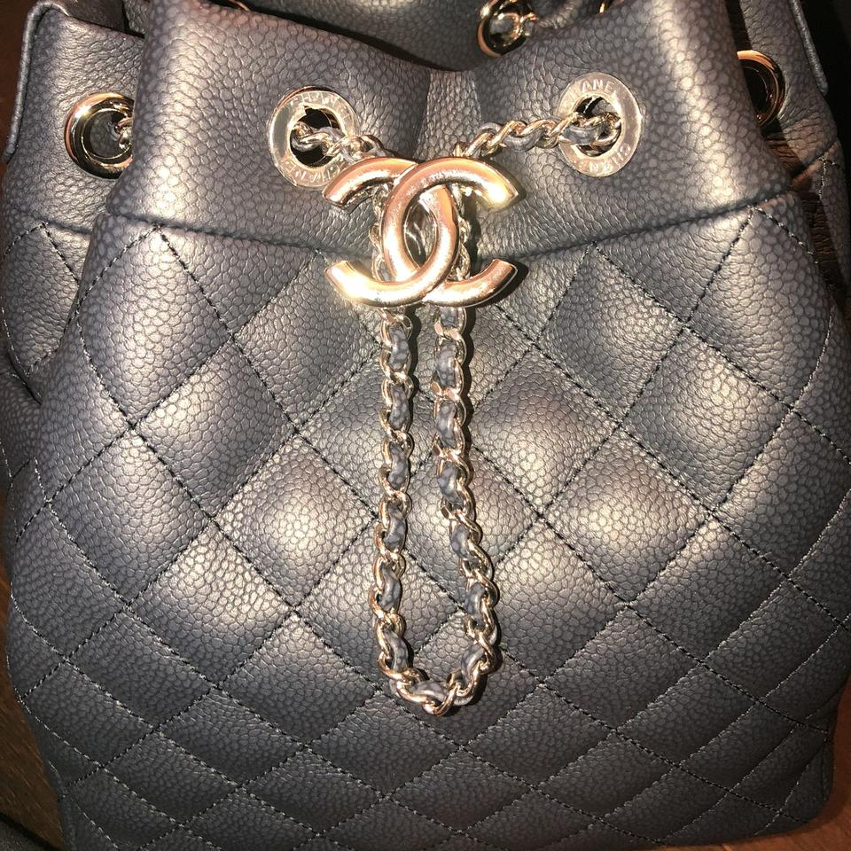61de890aa0ee Chanel Drawstring 2018 Caviar Quilted Bucket Cross Body Bag - Tradesy