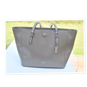 Coach Tote in heather gray