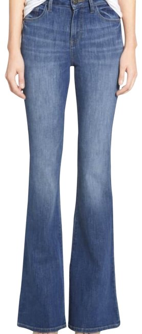 Item - Blue Heather High Rise Flare Leg Jeans Size 0 (XS, 25)