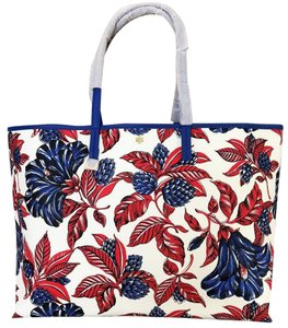 Tory Burch Tote in Vermillion Oversized Floral