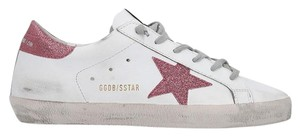 Golden Goose Deluxe Brand Superstar Sneakers Ggdb White/Pink Athletic