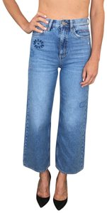 MiH Jeans Capri/Cropped Denim-Light Wash
