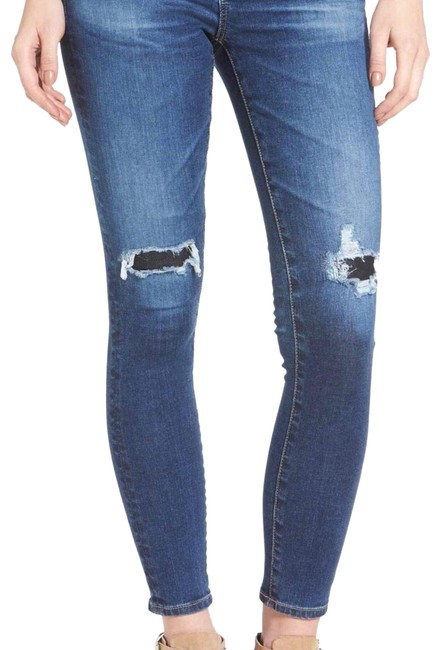 Item - Distressed The Legging Ankle Super Skinny Jeans Size 6 (S, 28)