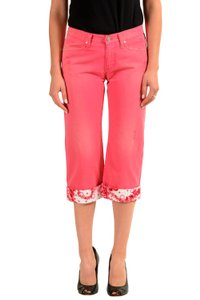 Versace Jeans Collection Capris Pink