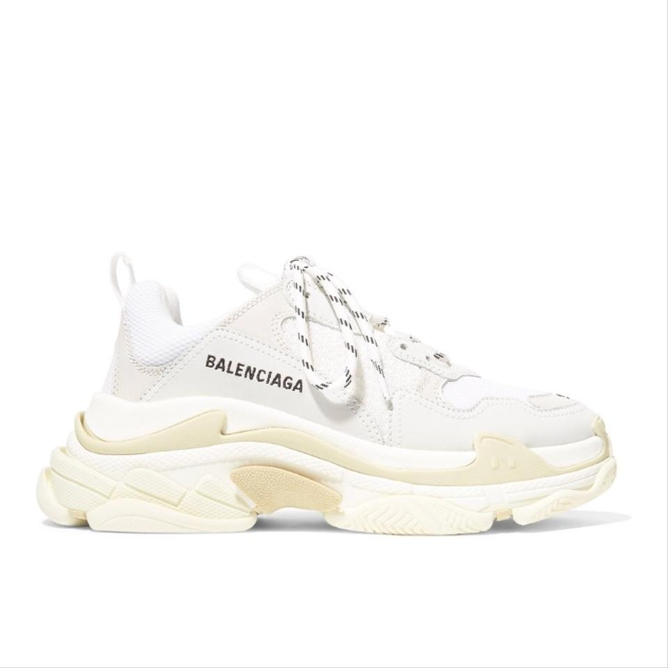 Balenciaga Triple S Trainers Suede Leather Dad Sneakers Size EU 40 (Approx. US 10) Regular (M, B)