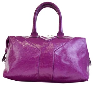 Saint Laurent Made In Italy Tote in Purple
