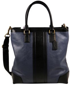 Coach Navy & Black Messenger Bag