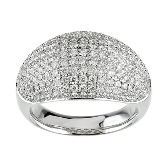 Preload https://item1.tradesy.com/images/madina-jewelry-white-500-ct-ladies-round-cut-diamond-anniversary-in-pave-setting-ring-24049360-0-0.jpg?width=440&height=440