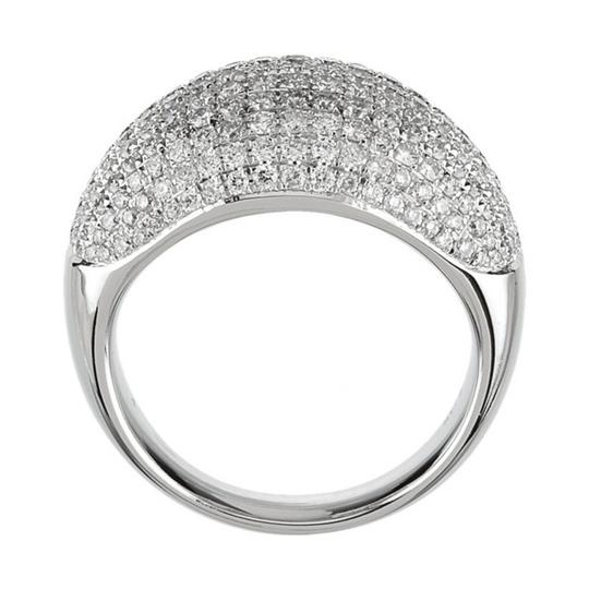 Madina Jewelry White 5.00 Ct Ladies Round Cut Diamond Anniversary In Pave Setting Ring