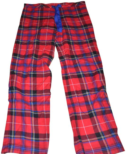 Preload https://img-static.tradesy.com/item/24049386/ralph-lauren-red-multi-pajamas-small-cotton-pants-size-6-s-28-0-1-650-650.jpg