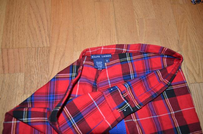Ralph Lauren Relaxed Pants red multi