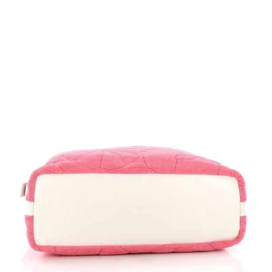 Chanel Terrycloth Tote in pink