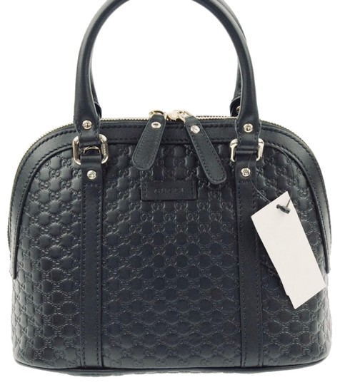 Preload https://item4.tradesy.com/images/gucci-dome-mini-convertible-black-leather-satchel-24049428-0-3.jpg?width=440&height=440
