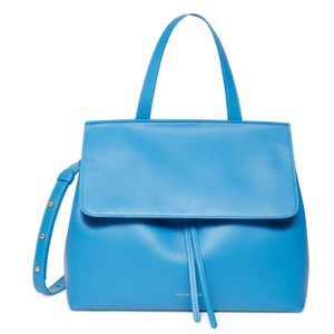 Mansur Gavriel Satchel in Sea Blue