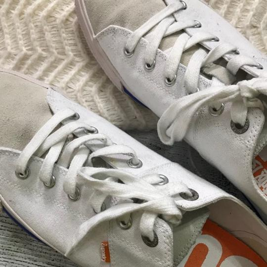 Super Dry Lace-up White Athletic