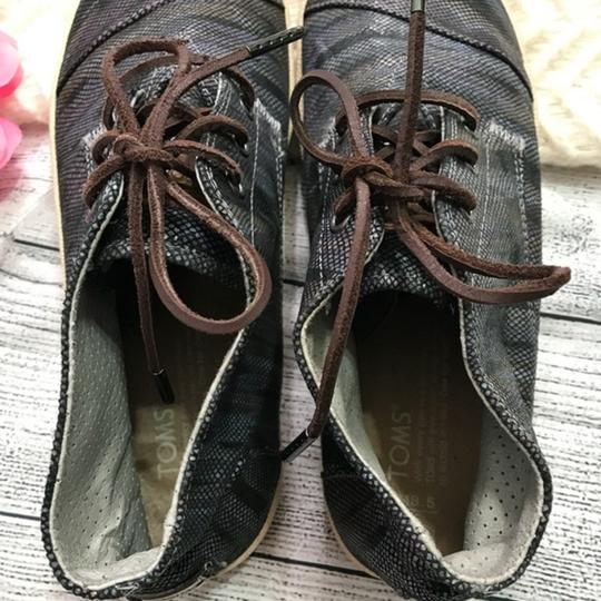 TOMS Lace-up Gray Boots