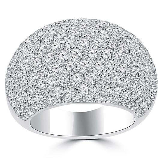 Preload https://img-static.tradesy.com/item/24049489/madina-jewelry-white-525-ct-ladies-round-cut-diamond-anniversary-ring-0-0-540-540.jpg