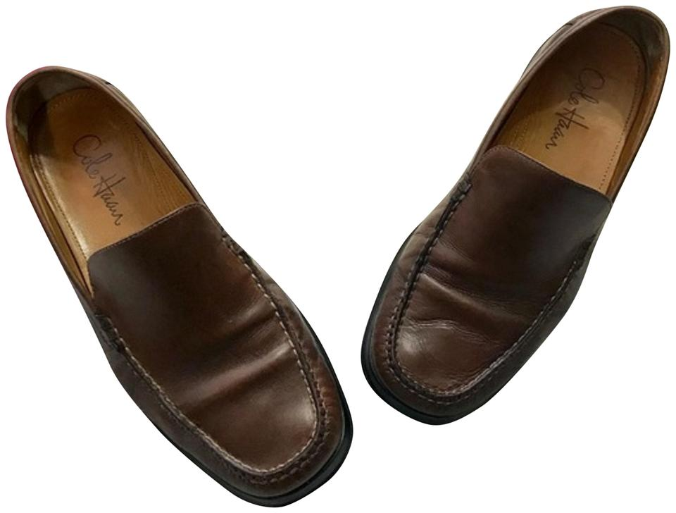 273b2e3bd82 Cole Haan Brown X Nike Air Men s Loafers Sz8 Formal Shoes Size US 8 ...