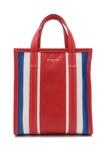 Preload https://img-static.tradesy.com/item/24049504/balenciaga-shopper-xs-blue-multicolor-red-tote-0-0-540-540.jpg