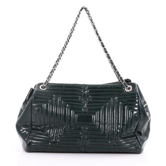 Chanel Pvc Tote in green