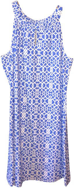 Preload https://item2.tradesy.com/images/jude-connally-blue-and-white-lisa-keyhole-mid-length-short-casual-dress-size-8-m-24049551-0-1.jpg?width=400&height=650