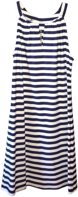 Preload https://item2.tradesy.com/images/jude-connally-navy-and-white-lisa-keyhole-mid-length-short-casual-dress-size-8-m-24049561-0-1.jpg?width=400&height=650