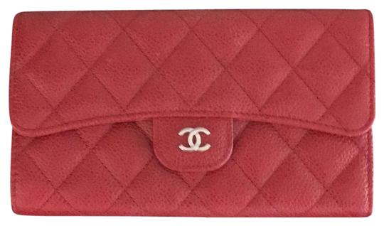 Preload https://item1.tradesy.com/images/chanel-red-classic-flap-wallet-24049570-0-1.jpg?width=440&height=440