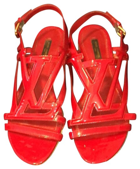 Preload https://item4.tradesy.com/images/louis-vuitton-red-unknown-sandals-size-us-75-regular-m-b-24049598-0-1.jpg?width=440&height=440