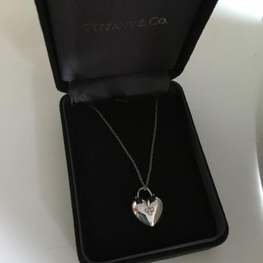 Tiffany & Co. Diamond Heart Etoile Necklace