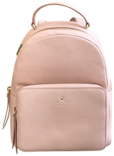 Preload https://item5.tradesy.com/images/kate-spade-larchmont-ave-mini-nicole-handbag-pebbled-baby-pink-leather-backpack-24049639-0-1.jpg?width=440&height=440