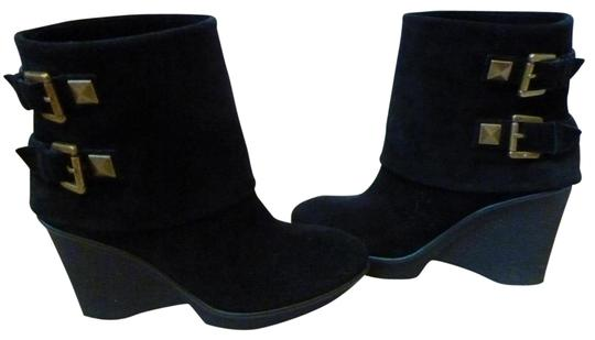 Preload https://item5.tradesy.com/images/b-makowsky-black-suede-wedge-with-buckles-bootsbooties-size-us-65-regular-m-b-24049674-0-1.jpg?width=440&height=440