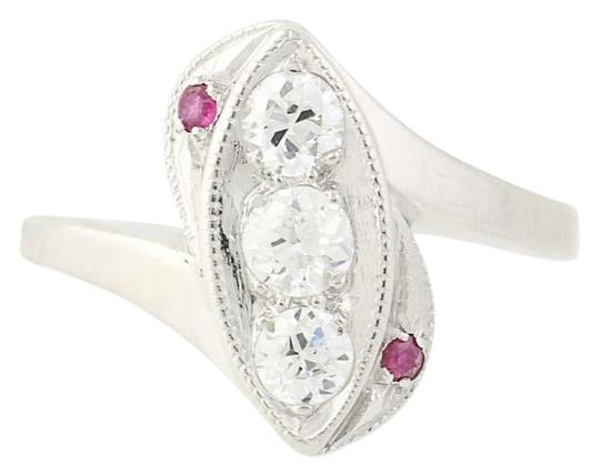Preload https://item5.tradesy.com/images/platinum-art-deco-diamond-and-ruby-bypass-900-vintage-n8206-ring-24049684-0-1.jpg?width=440&height=440