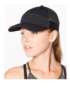 Lululemon Lululemon Dash & Splash Cap Black Adjustable