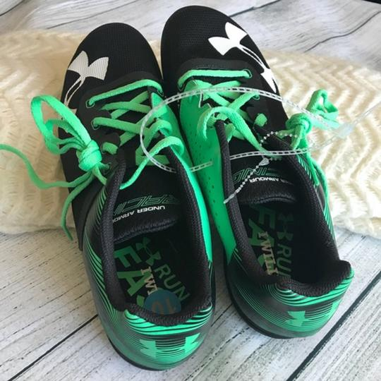 Under Armour Lace-up Black/Green Athletic