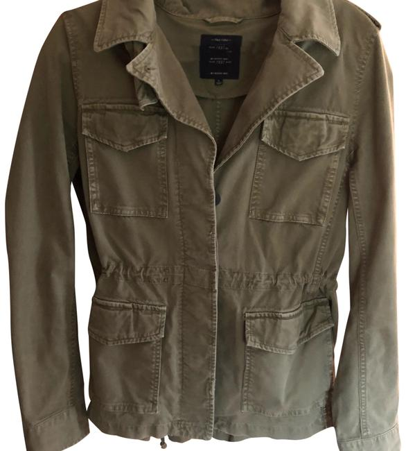 Preload https://item4.tradesy.com/images/madewell-army-green-miltary-jacket-size-12-l-24049703-0-1.jpg?width=400&height=650